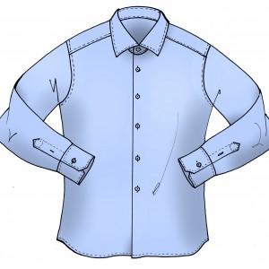 Camicia Uomo Slim