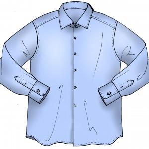 Camicia uomo class